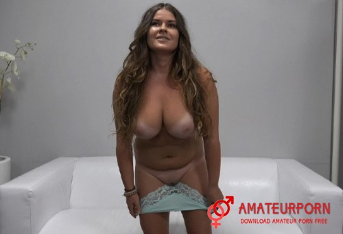 Vika Hot Girl With Big Natural Boobs On Casting