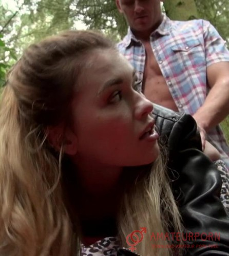Misha Cross Sex For Money In The Woods