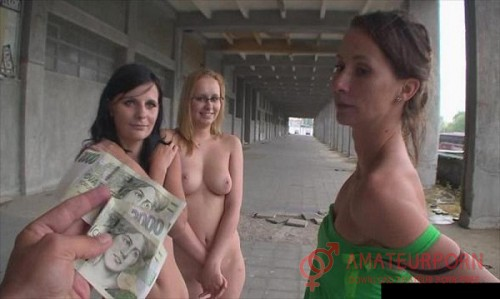 Amateur Show Tits On Street For Money