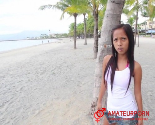 Layka Tourist Pickup Thai Teen On Beach