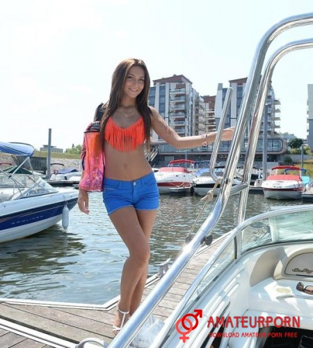 Alexis Brill Sex With Beauty Girl On Boat
