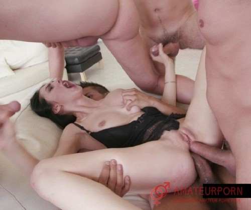 Crystal Greenvelle Two Dick Gang Bang In The Ass