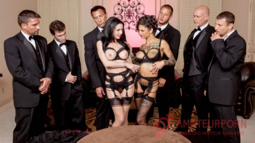 Veronica Avluv And Bonnie Rotten Two Wife Gangbang