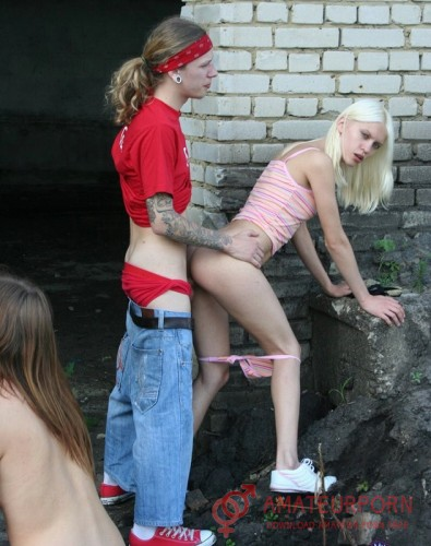 Nastya And Sheila Russian Teen Sex In Abandoned Building