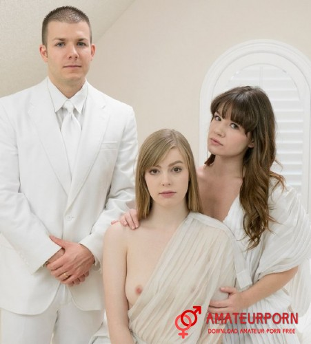 Alison Rey and Dolly Sex With Two Mormon Girls