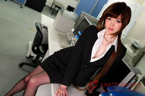 Rin Amane Japan Employee Fuck On Work