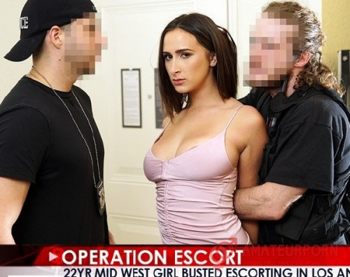 Ashley Adams Two Policeman Fuck Hot Girl