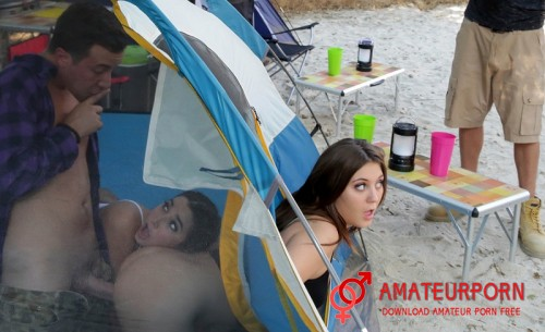 JoJo Kiss And Karlee Grey Cheating In The Tent