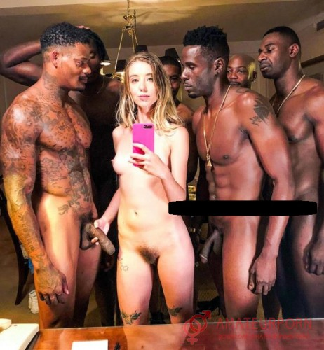 Haley Reed Young College Girl Orgy Fucked By BBC