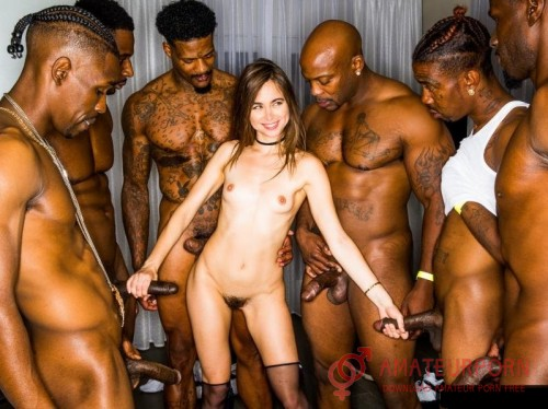 Riley Reid Girlfriend Gangbang With BBC
