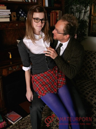 Alaina Dawson Sex With Shy Nerd Girl