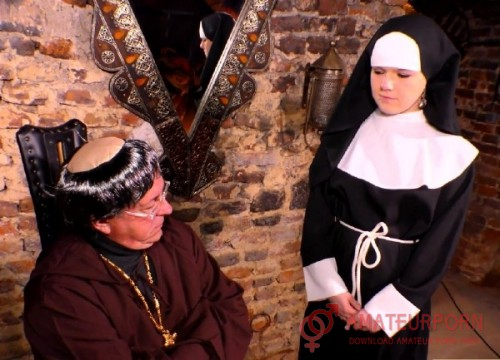 Amateur Priest Fucks Young Nun