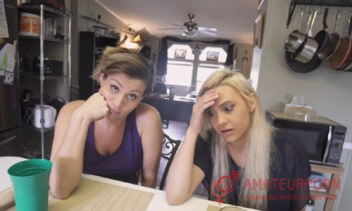 Coco Vandi and Maria Jade StepSon Blacmailed StepMom And StepSis