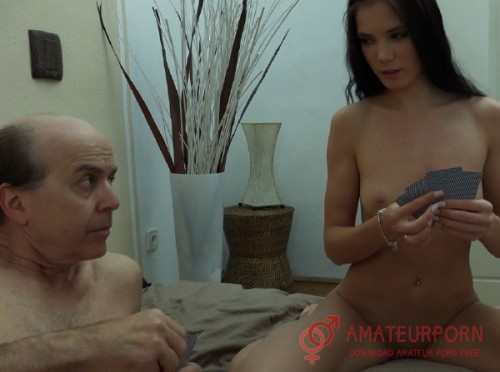 Ornella Morgan and Lovenia Lux Old Man Fucd Two Young Teen