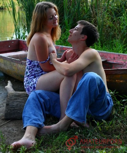 Aneta Romantic Russian Sex Near Lake