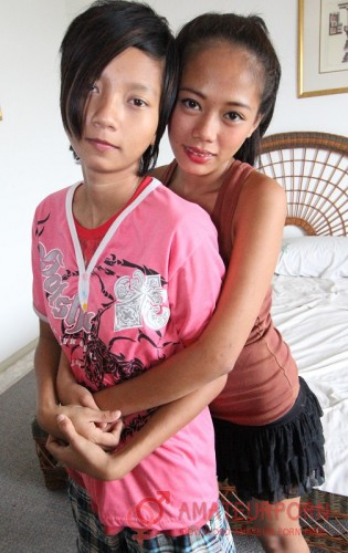 Nica and Sally Two Thai Teen Fuck
