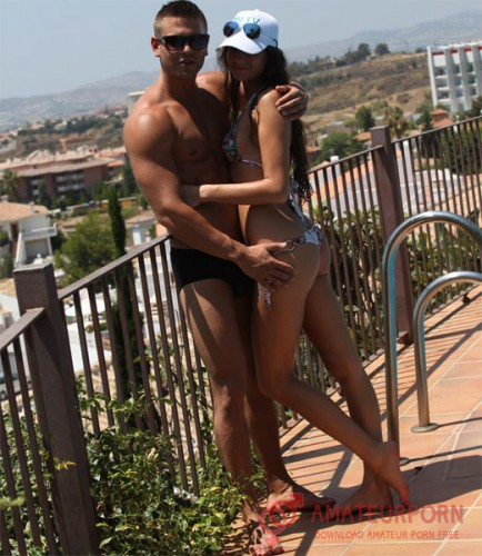 Agnessa and Juan Amateur Sex On Vacation