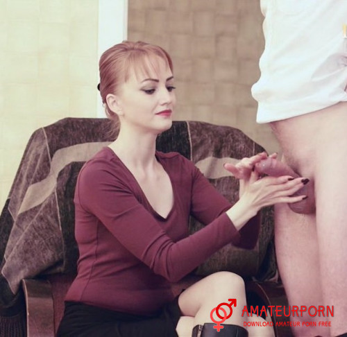 LiLu HandJob For New Stranger