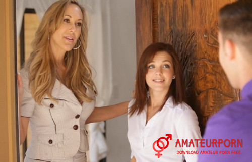 Brandi Love and Kiera Winters Sex With StepMom And Her Beauty StepDaughter