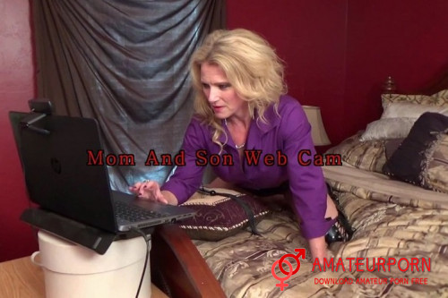 Amanda Verhooks StepMom And StepSon On Webcam Sex Chat
