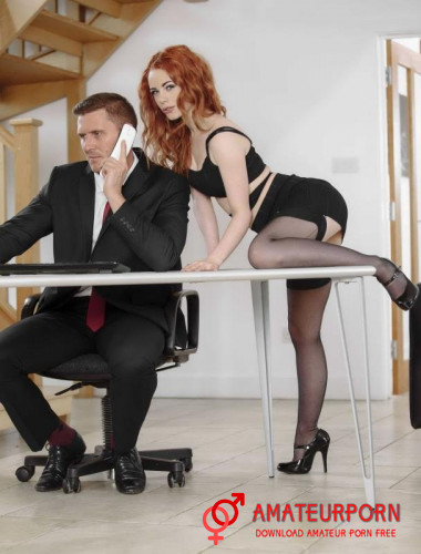 Ella Hughes Hot Secretary Girl