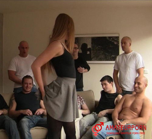 Alexis Crystal Gang Bang Party Porn Casting