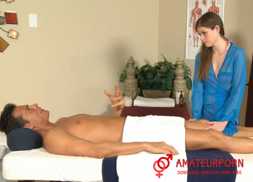 Lara Brookes Teen First Time On Massage