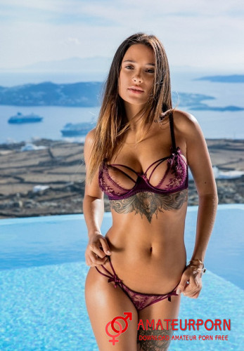 Liya Silver Sex With Tattoo Model
