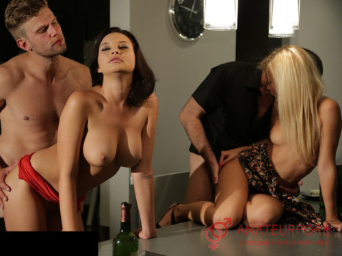 Anna Polina and Lola Reve Most Beautiful Swinger Sex