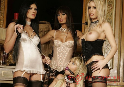 Lea Lazure, Yasmine, Virginie Caprice Hardcore Orgy All Ways and First Double Penetration