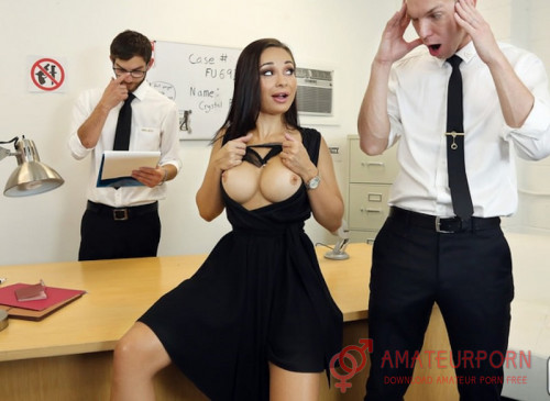 Crystal Rush Sex With New Teachers